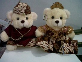 wedding Javanese Bear